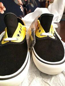 Vans Mens Sneakers. Size 10.5  Fade Black/ Orange