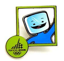 Pin Spilla Olimpiadi Torino 2006 Mascotte - Mascotte Frame Green