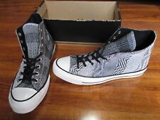 NEW Converse Chuck Taylor AS 70 Hi Shoes MENS 9.5 Black White Knit 146968C $115.