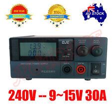 Adjustable Power Supply Switch Mode 9-15V 30A 13.8V 12V OZ SELLER