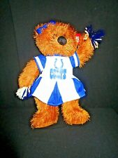 """New listing NFL Indianapolis COLTS CHEERLEADER Teddy Bear 14"""" Sports Plush TAG"""