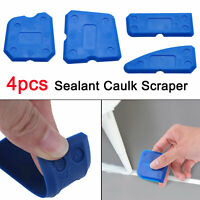 4pcs Caulking Joint Sealant Silicone Grout Remover Scraper Tools Kits for Corner