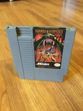 Nintendo NES Swords & Serpents Polished Pins Cleaned & Tested