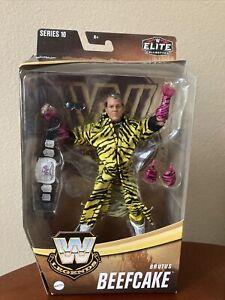 "WWE Brutus Beefcake Elite Legends Series 10 6"" Action Figure Target Exclusive"