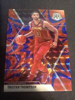 2019-20 Panini Mosaic Tristan Thompson Red Blue Reactive Prizm #147 Cavaliers