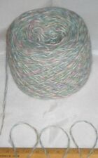 50g Lake District Kettlewell Green marl knitting wool yarn 4 ply SOFT fluffy
