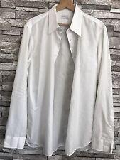 NewYorkindustrie Men's Shirt /Classic White/100% Cotton /Size: 16 (41)