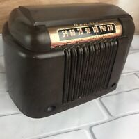 Vintage 1946 Tube Radio Bendix Aviation 0526A Bakelite Cover Part