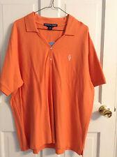 Dairy Queen orange polo shirt