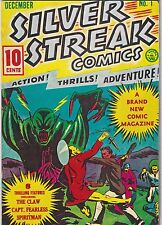 1975 Silver Streak Comics #1 Don Maris 1939 Reprint Edition Comic Book