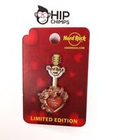 Hard Rock Cafe San Antonio Copper Heart Valentines Day Limited Edition Pin 2016