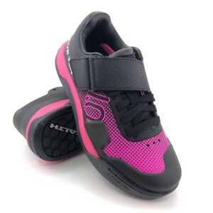 Five Ten Hellcat Pro Cycling Shoes Womens Size 5 EUR 35 Shock Pink Clipless SPD