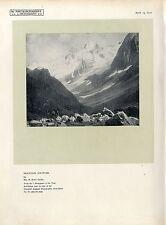 "Mountain solitude by Mrs. H. Hart India""Photogram...Histor.Kunst-Photodruck 1920"