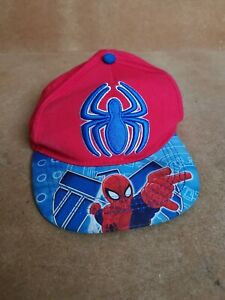 Ultimate Spider-man Marvel Adjustable Baseball Cap Hat Primark Boys Years 4-7