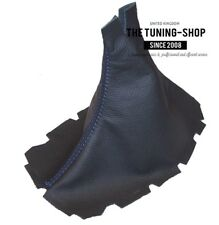 Gear Boot For Ford Mustang 2005-2010 Leather Blue Stitching