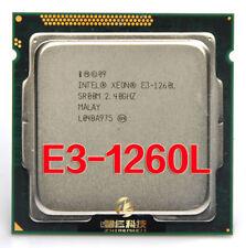 CPU Intel Xeon E3-1260L Low-Power 2.4 GHz Quad-Core LGA1155 45W Processor CPU