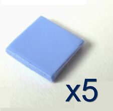 5x Pad thermique silicone 10x10x2mm pour GPU / Chipset Thermal Conductive Pad