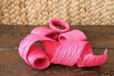 4 x Ruban Rose Roll SOLID Matte Paper Craft Ribbon 1.5 in (environ 3.81 cm) Wide 5 cm Papier Cadeau