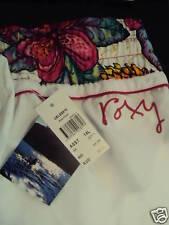 "BNWT Roxy ""Enzo Floral"" Boardies Sz 10 White/Pink/Gold"