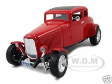1932 FORD COUPE RED 1:18 DIECAST MODEL CAR BY MOTORMAX 73171