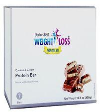 Doctors Best Premium - Cookies & Cream High Protein Diet Bars Low Carb