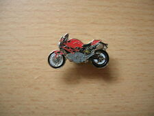 Pin Anstecker Ducati Monster Monstero 696 rot red Motorrad 1156 Motorbike