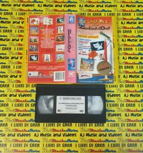 VHS film I CARTONI DELLO ZECCHINO D'ORO 2000 i miti junior MIV 93177(F219)no dvd