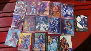 Marvel X-MEN Trading Cards 1993 - Topps - Various STORM PHOENIX ROGUE