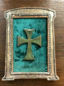 Antiquity Bronze Byzantine Pectoral Cross c.5th-7th century AD