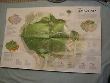 AMAZONIA MAP National Geographic November 2015