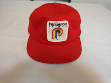 Vintage 80s PITTSBURGH PAINTS PAINTING USA ADVERTISING SNAPBACK PATCH MESH HAT