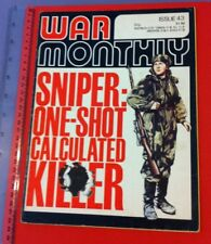 War Monthly Issue 43 published monthly by Marshall Cavendish.1977