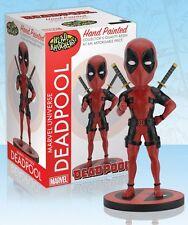 MARVEL Universe Wackelkopf Figur DEADPOOL Classic Red/Black 20cm NEU+OVP NECA