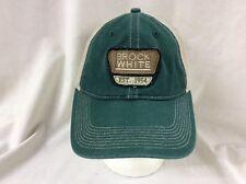 trucker hat baseball cap Brock White retro vintage rave nice retro slide adjust
