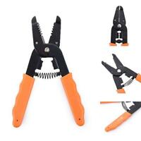 Multifunctional Handle Tool Cable Wire Stripper Stripping Cutting Pliers Cutter