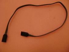 "Style 2725 AWM  26AWG Serial ATA 18"" Black  SATA Data Cable"