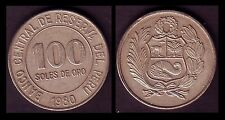 ★★ PEROU / PERU ● 100 SOLES 1980 ● (ref65) ★★