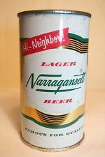 New listing Narragansett Beer 1960's flat top - Narragansett Brewing, Cranston, Rhode Island