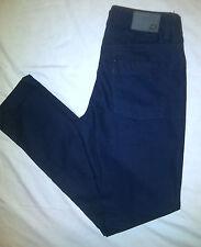 CASTRO Mens Moses Skinny Jeans Dark Blue Tag Size: 30  34 X 33