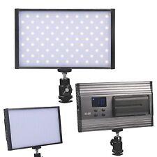 162 LED 1500LM Dimmable Camera Slim Lamp Panel  Video Light + battery for DSLR