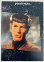 Star Trek TOS 1985 Greeting Card Spock 2 Vintage