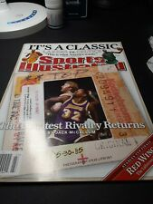 June 9, 2008 Magic Johnson and Larry Bird Sports Illustrated No Label New �
