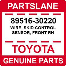 89516-30220 Toyota OEM Genuine WIRE, SKID CONTROL SENSOR, FRONT RH