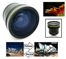 Super Hi Def 0.17x Fisheye Lens for Canon Powershot SX60 SX50 SX30 SX520 HS