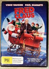Fred Claus (Vince Vaughn & Paul Giamatti) DVD in EXCELLENT condition (Region 4)