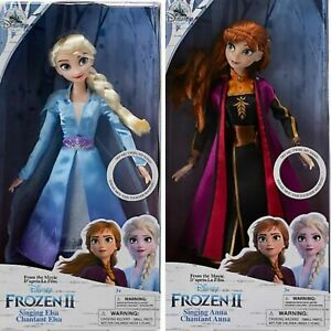Disney -  Elsa + Anna Singende Puppen - Die Eiskönigin 2 NEU