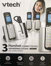 Vtech Ds6672-4 3 Handset Connect to Cell 3 Answering System