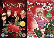 Mrs Brown's Boys More Christmas Crackers & Father Ted Special A Christmassy DVD