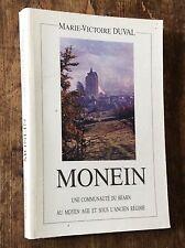 MONEIN une communauté du BÉARN au Moyen Age et sous l'Ancien Régime / Oloron