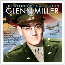 Glenn Miller DEFINITIVE COLLECTION Best Of 75 Top Ten Hits MUSIC SONGS New 3 CD